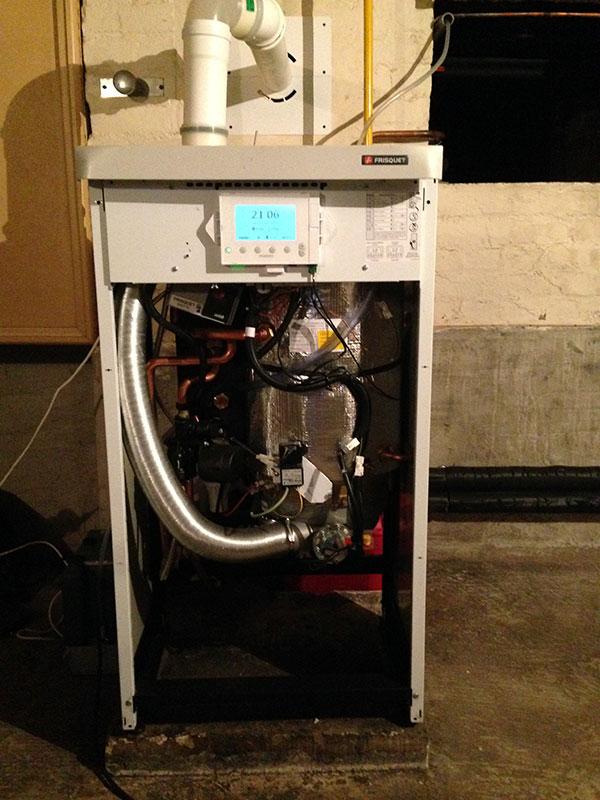 remplacement chaudière gaz