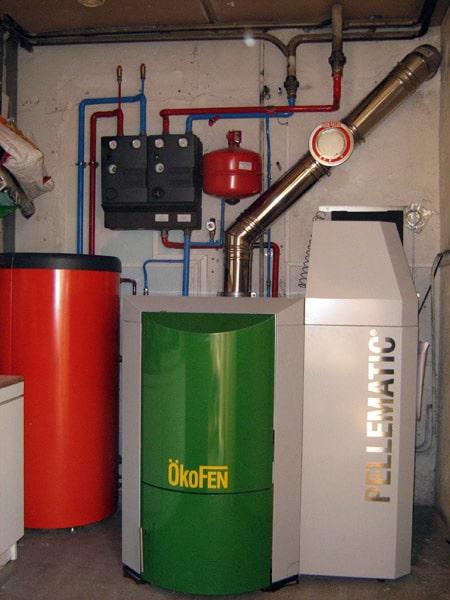 Chaudière automatique Okofen