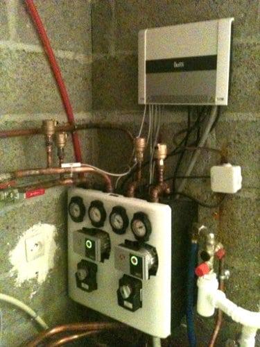 Régulation de circuits chaudière à granulé Okofen